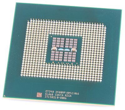 Intel Xeon E7340 SLA68 Quad Core CPU 2.4 GHz, 8 MB Cache, 1066 MHz FSB, Socket 604