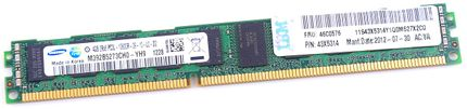IBM 4GB 2Rx8 PC3L-10600R DDR3 Registered Server-RAM VLP Modul REG ECC - 46C0576