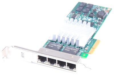 IBM 5717 Quad Port Gigabit Server Adapter / Netzwerkkarte PCI-E - pSeries P6 / P7 - 46Y3512 / 10N8556