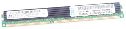 IBM 4GB 2Rx4 PC3-10600R DDR3 Registered Server-RAM VLP Modul REG ECC - 44T1498