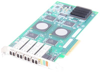 QLogic QLE2464 Quad Port 4 Gbit/s FC PCI-E HBA