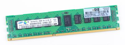 HP 2GB 2Rx8 PC3-10600R DDR3 Registered Server-RAM Modul REG ECC - 595094-001 / 500202-161