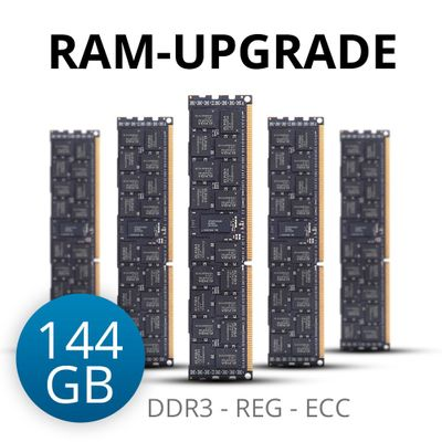 RAM-upgrade to 144 GB