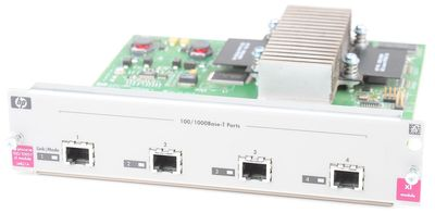 HP ProCurve 4 Port Gigabit XL Switch Module J4821A