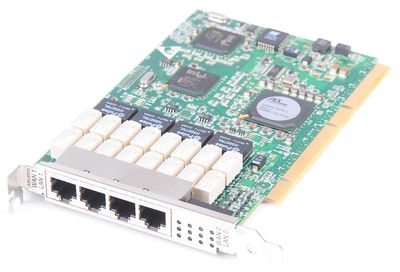 Silicom Quad Port Gigabit Bypass Ethernet Server Adapter / Netzwerkkarte - PXG4BPI