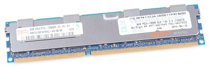 IBM 8GB 2Rx4 PC3-10600R DDR3 Registered Server-RAM Modul REG ECC - 46C7453