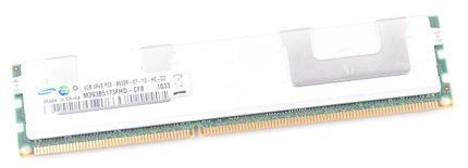 Samsung 4GB 4Rx8 PC3-8500R DDR3 Registered Server-RAM Modul REG ECC - M393B5173FHD-CF8