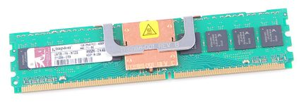 Kingston RAM Module 1 GB 2Rx8 PC2-4200F-444-11 ECC FB-DIMM