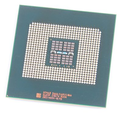 Intel Xeon X7460 2.66 GHz SLG9P 16 MB Cache 6-Core Server CPU Socket 604
