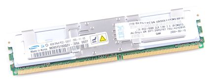 IBM RAM Modul FB-DIMM 4 GB PC2-5300F ECC 2Rx4  41Y2845