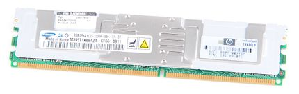 HP RAM Module PC2-5300F 2Rx4 8 GB 398709-071 DDR2 FB-DIMM ECC