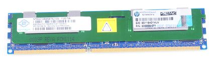 HP 8GB 2Rx4 PC3-10600R DDR3 Registered Server-RAM Modul REG ECC - 500205-071