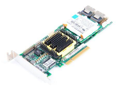 SUN ASR-5805 RAID Controller 3G SAS / SATA - 8-Port, 2x SFF-8087, PCI-E - 375-3536 - low profile – Bild 1