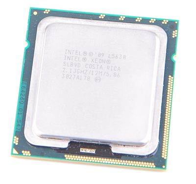 Intel Xeon L5630 Quad Core CPU 4x 2.13 GHz, 12 MB SmartCache, Socket 1366 - SLBVD