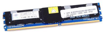 Nanya RAM Module 2 GB PC2-5300F 2Rx4 DDR2 ECC
