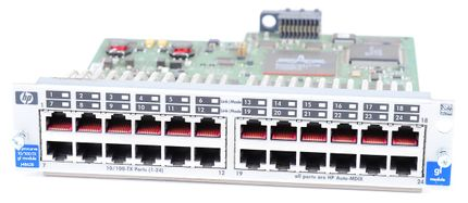 HP ProCurve 24 Port 10/100Base-TX gl Modul J4862B