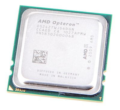 AMD OPTERON 2427 Six Core OS2427WJS6DGN / 6x 2.2 GHz / 6 MB L3 / Socket F