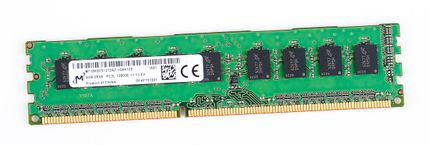 Micron 4GB 2Rx8 PC3L-12800E DDR3 unbuffered Server-RAM Modul ECC - MT18KSF51272AZ-1G6K1ZE