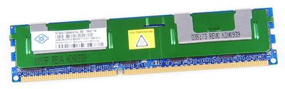 NANYA 4GB 2Rx4 PC3-8500R DDR3 Registered Server-RAM Modul REG ECC - NT4GC72B4NA1NL-BE
