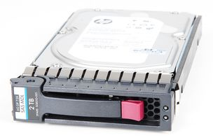"HP 2TB 2000 GB 6G 7.2K SAS 3.5"" LFF Hot Swap Festplatte / Hard Disk - 508010-001 / 507616-B21"