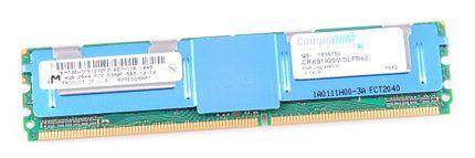 Micron RAM Modul FB-DIMM 4 GB PC2-5300F ECC 2Rx4