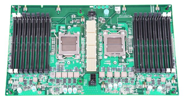 Dell PowerEdge R905 CPU / Memory Board 02W1VW / 2W1VW – Bild 1