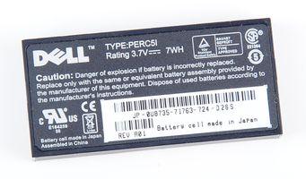 Dell Battery Akku Pack für PERC RAID Controller U8735 / 0U8735 Type: PERC5I