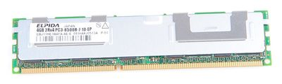 ELPIDA 4GB 2Rx4 PC3-8500R DDR3 Registered Server-RAM Modul REG ECC - EBJ41HE4BAFA-AE-E