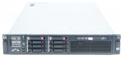 HP ProLiant DL380 G6 Server 2x Xeon X5550 Quad Core 2.66 GHz, 16 GB DDR3 RAM, 2x 146 GB SAS 10K