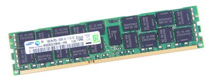 Samsung 16GB 2Rx4 PC3L-10600R DDR3 Registered Server-RAM Modul REG ECC - M393B2G70BH0-YH9