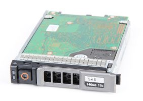 "DELL 146 GB 6G Dual Port 15K SAS 2.5"" Hot Swap Festplatte - 0W330K / W330K"