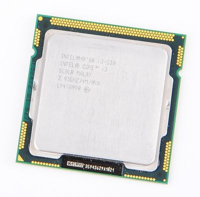 Intel Core i3-530 Dual Core CPU 2x 2.93 GHz, 4 MB SmartCache, Socket 1156 - SLBLR