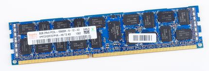 hynix 8GB 2Rx4 PC3L-10600R DDR3 Registered Server-RAM Modul REG ECC - HMT31GR7CFR4A-H9