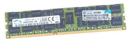 HP 16 GB 2Rx4 PC3-14900R DDR3 RAM Modul REG ECC - 715274-001