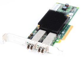 IBM LPE12002 Dual Port 8 Gbit/s Fibre Channel Host Bus Adapter / FC HBA, PCI-E - 42D0500