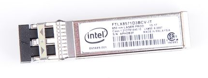 Intel 10 Gbit/s SFP+ Modul / Transceiver - Short Wave, 850 nm - FTLX8571D3BCV-IT