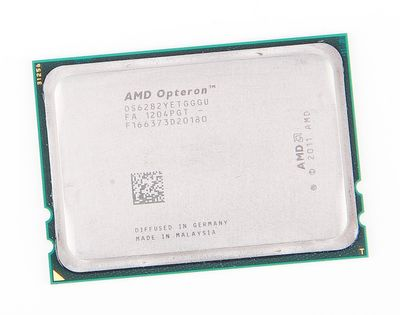 AMD OPTERON 6282 16-Core CPU OS6282YETGGGU / 16x 2.6 GHz / 2x 8 MB L3 / Socket G34
