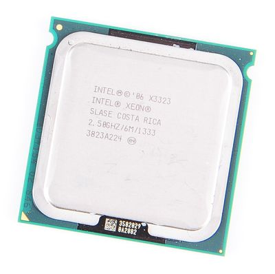Intel Xeon X3323 SLASE Quad Core CPU 4x 2.5 GHz / 6 MB L2 / Socket 771 / 1333 MHz FSB