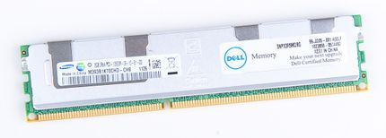 DELL 8GB 2Rx4 PC3-10600R DDR3 Registered Server-RAM Modul REG ECC - SNPX3R5MC/8G