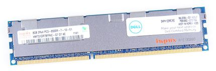 Dell 8 GB 2Rx4 PC3-8500R DDR3 RAM Modul REG ECC - SNPH132MC/8G