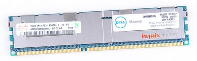DELL 16GB 4Rx4 PC3-8500R DDR3 Registered Server-RAM Modul REG ECC - SNPY898NC/16G