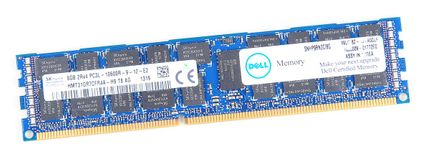 DELL 8GB 2Rx4 PC3L-10600R DDR3 Registered Server-RAM Modul REG ECC - SNPP9RN2C/8G
