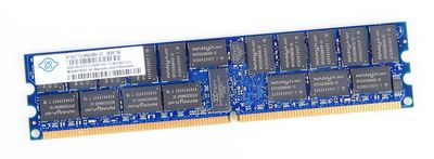 nanya 4 GB 2Rx4 PC2-5300P DDR2 Parity ECC RAM Modul