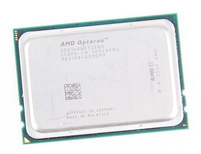 AMD OPTERON 6168 12-Core CPU OS6168WKTCEG0 / 12x 1.9 GHz / 2x 6 MB L3 / Socket G34