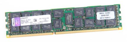 Kingston 16GB 2Rx4 PC3L-10600R DDR3 Registered Server-RAM Modul REG ECC - KTH-PL313LV/16G