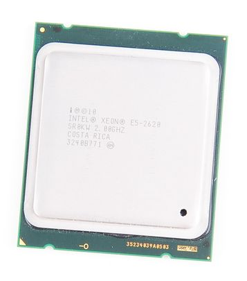 Intel Xeon E5-2620 Six Core CPU 6x 2.00 GHz, 15 MB SmartCache, Socket 2011 - SR0KW