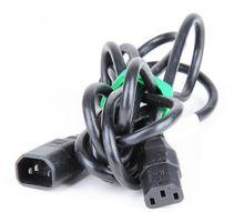 10A PDU-Stromkabel / Kaltgerätekabel / Power Cord - 2m - schwarz / black