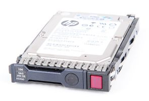 "HP 300 GB 6G 15K SAS 2.5"" Hot Swap Festplatte / Hard Disk mit Smart Carrier - 653960-001 / 652611-B21"
