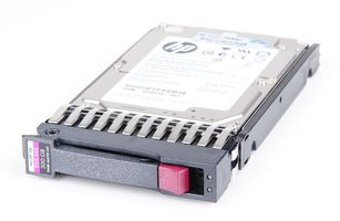 "HP 300 GB 6G Dual Port 15K EVA SAS 2.5"" Hot Swap Festplatte / Hard Disk - 665750-001 / QR477A"