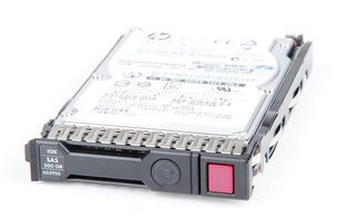 "HP 300GB 6G 10K SAS 2.5"" SFF Hot Swap Festplatte / Hard Disk mit Smart Carrier - 653955-001 / 652564-B21"